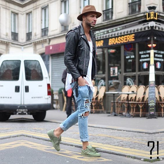 Men Ripped Jeans Outfits (14)