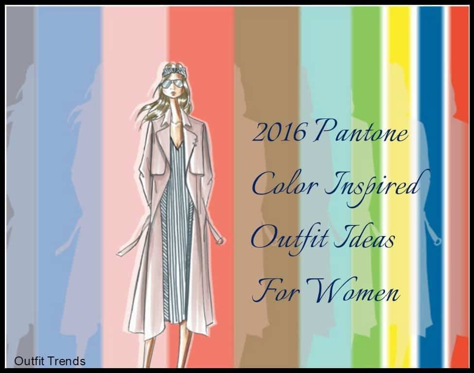 Pantone Color Inspired outfits (2)