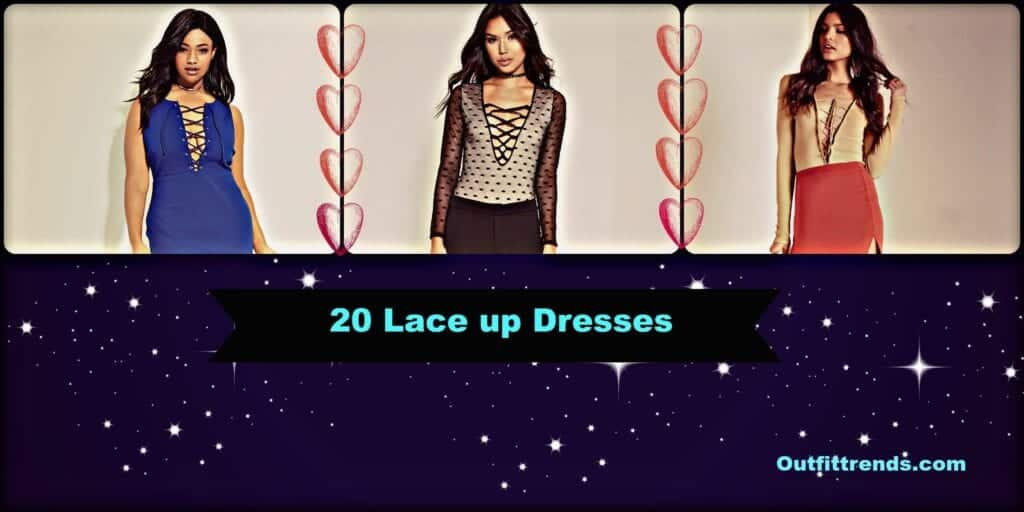 PicMonkey-Collage-9-1024x512 20 Cute Lace up Dresses That are Trending These Days