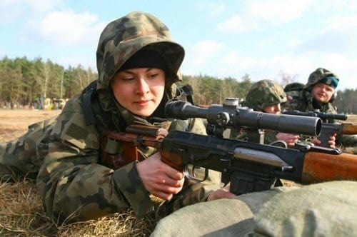 Polish-Army-1 Top 20 Countries With Most Attractive Female Soldiers In World