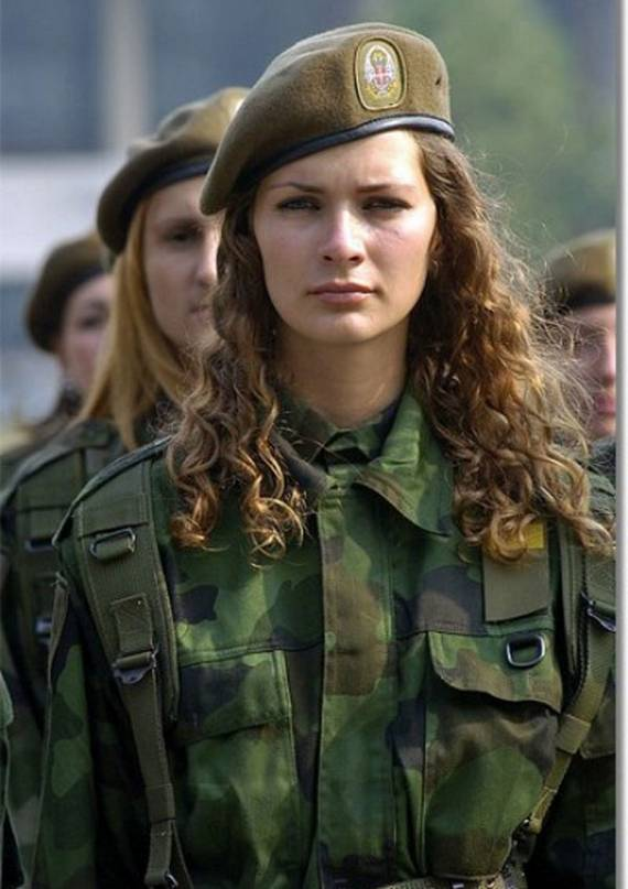 Serbia-army Top 20 Countries With Most Attractive Female Soldiers In World