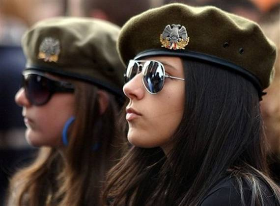 Serbia Top 20 Countries With Most Attractive Female Soldiers In World