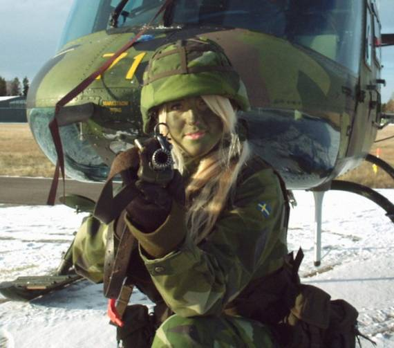Sweden Top 20 Countries With Most Attractive Female Soldiers In World