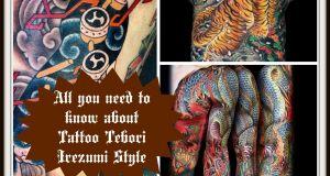 Tattoo Tebori Irezumi Style