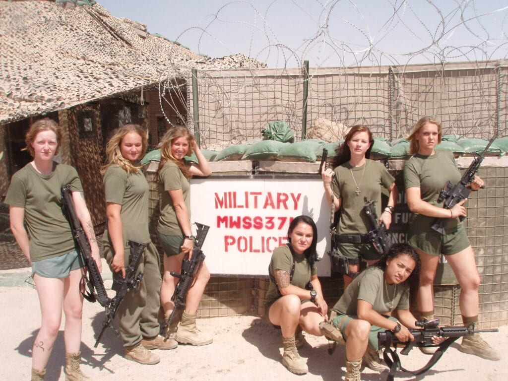 USA_Female_members_of_MP-1024x768 Top 20 Countries With Most Attractive Female Soldiers In World