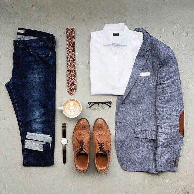 blazers-for-men-17 Men Blazer Styles -18 Latest Men Casual Outfit with Blazer
