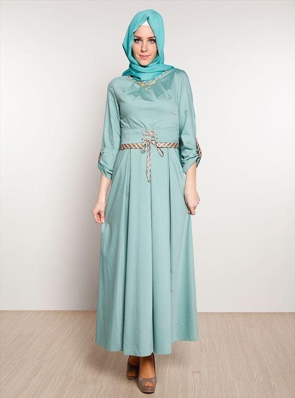 hijab-12 Hijab Engagement Dresses - 27 Beautiful Engagement Dresses for Hijabis