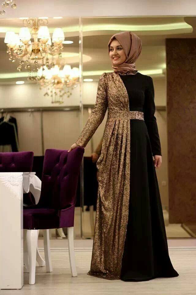 hijab-13 Hijab Engagement Dresses - 27 Beautiful Engagement Dresses for Hijabis