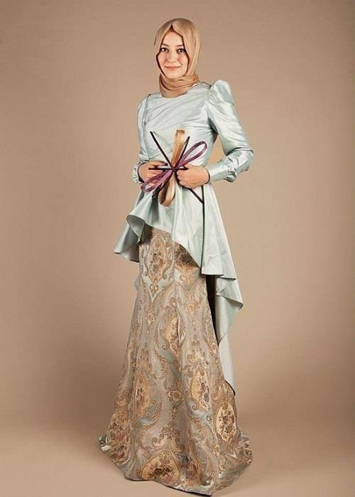 hijab-15 Hijab Engagement Dresses - 27 Beautiful Engagement Dresses for Hijabis