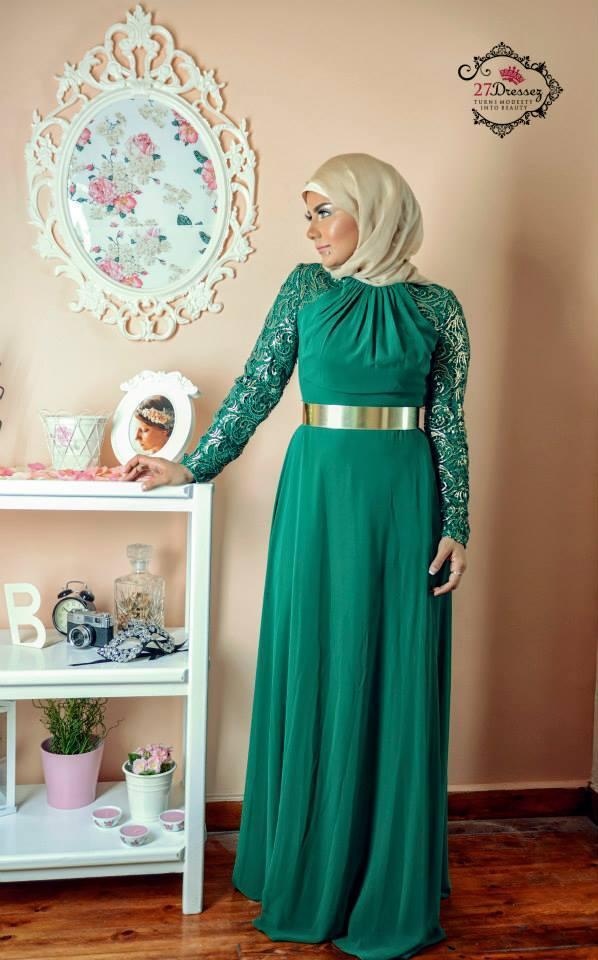 hijab-18 Hijab Engagement Dresses - 27 Beautiful Engagement Dresses for Hijabis