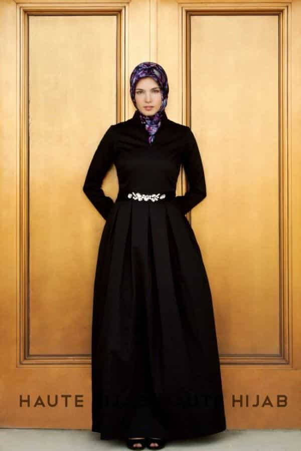 hijab-21 Hijab Engagement Dresses - 27 Beautiful Engagement Dresses for Hijabis