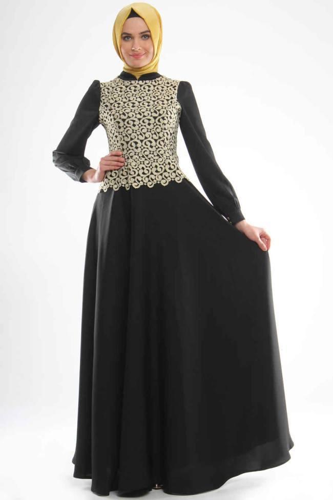 hijab-35 Hijab Engagement Dresses - 27 Beautiful Engagement Dresses for Hijabis