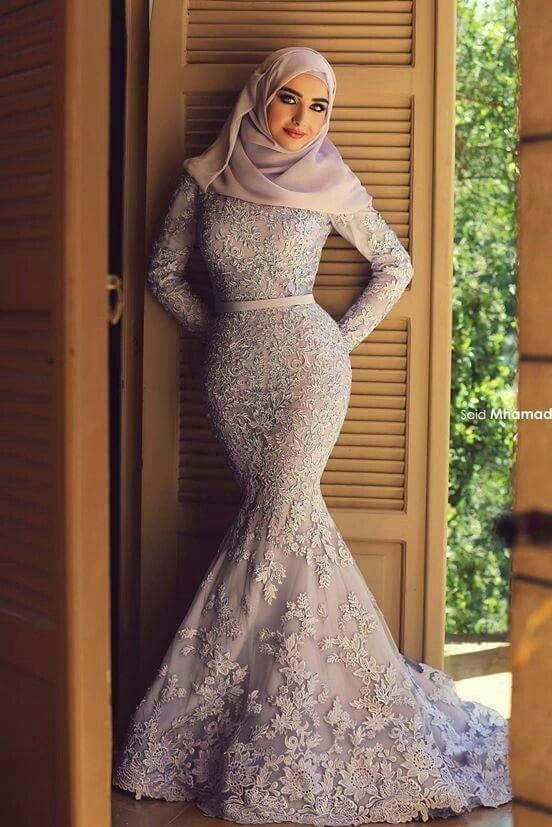 hijab-36 Hijab Engagement Dresses - 27 Beautiful Engagement Dresses for Hijabis
