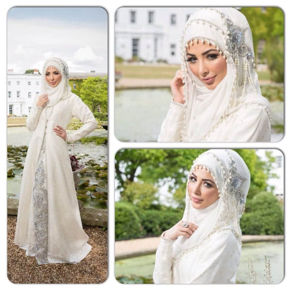 hijab-39 Hijab Engagement Dresses - 27 Beautiful Engagement Dresses for Hijabis