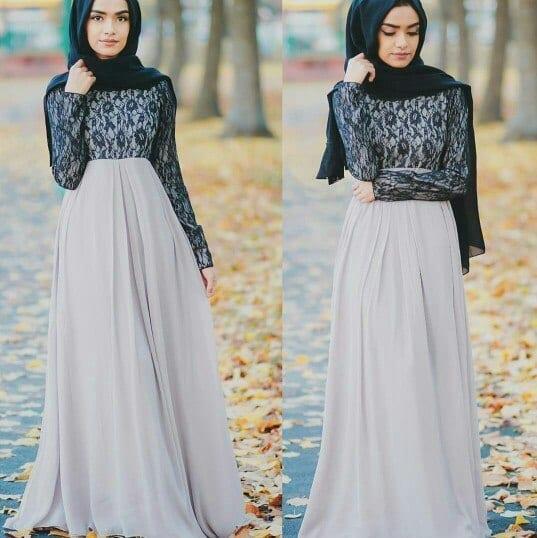 hijab-41 Hijab Engagement Dresses - 27 Beautiful Engagement Dresses for Hijabis