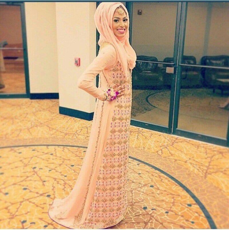 hijab-43 Hijab Engagement Dresses - 27 Beautiful Engagement Dresses for Hijabis