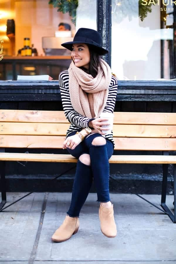 kat-tanita3 Cozy Winter Outfit Idea-20 Cute and Warm Outfits for Winters