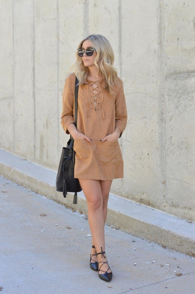 lace-up-19 20 Cute Lace up Dresses That are Trending These Days