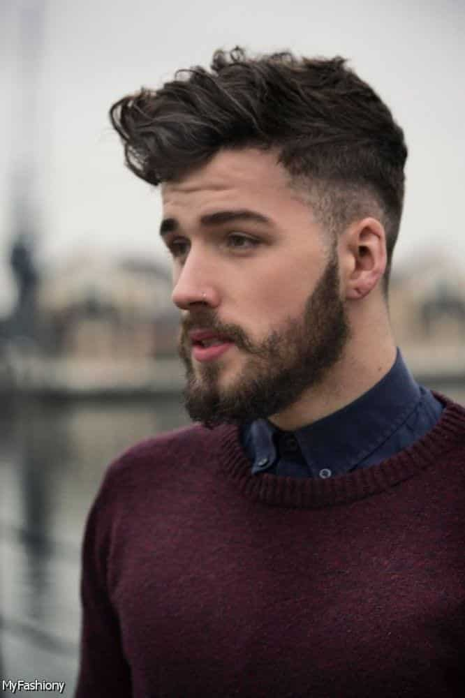 short-hair-beard-37 26 Cool Beard Styles for Short Hair Men for Perfect Look