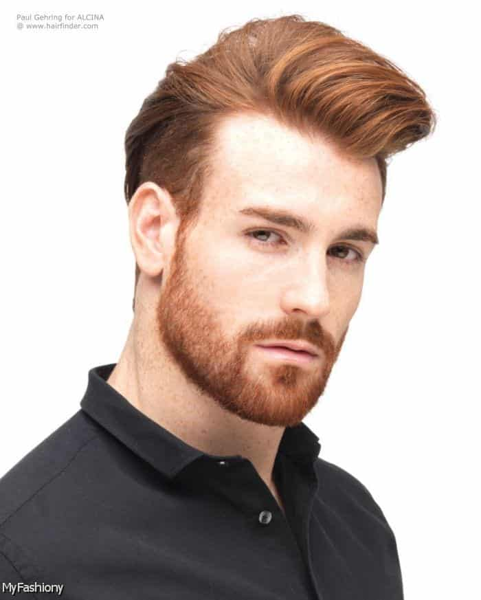 short-hair-beard-40 26 Cool Beard Styles for Short Hair Men for Perfect Look