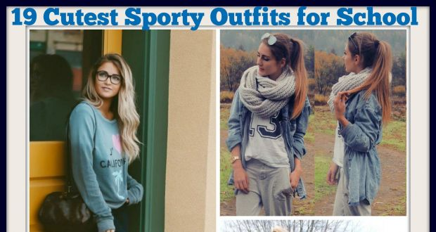 sporty school outfit