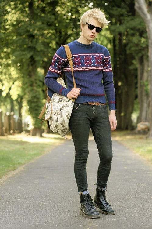 Teenage Guys winter Outfits (8)