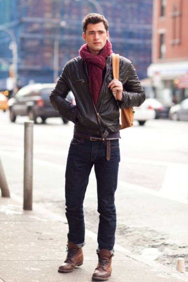 Teenage Guys winter Outfits (6)