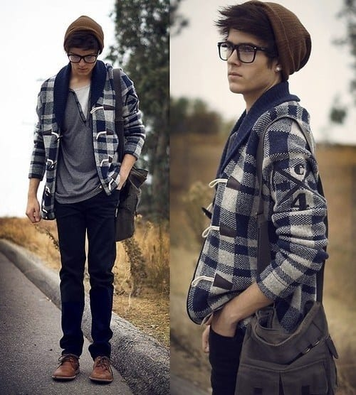 Teenage Guys winter Outfits (2)