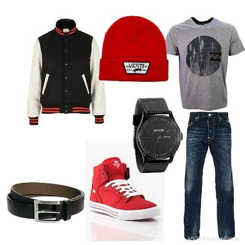 Teenage Guys winter Outfits (22)
