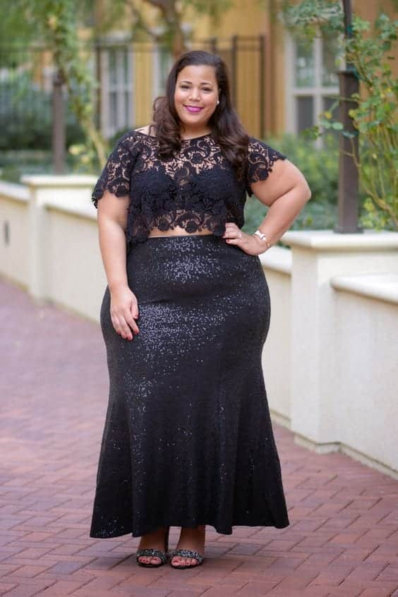 12-4 28 Fashionable Nightclub Outfits For Plus Size Women This Year