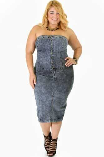 15-3 28 Fashionable Nightclub Outfits For Plus Size Women This Year
