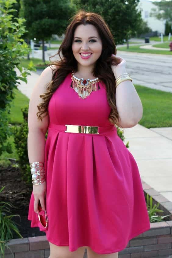 3-2 28 Fashionable Nightclub Outfits For Plus Size Women This Year