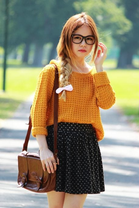 chic outfits for first day of college (17)