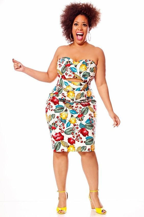 7-3 28 Fashionable Nightclub Outfits For Plus Size Women This Year