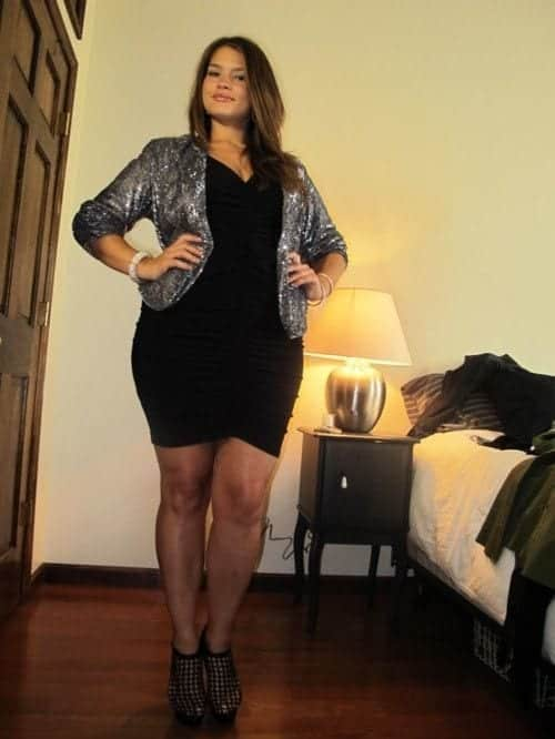 8-4 28 Fashionable Nightclub Outfits For Plus Size Women This Year