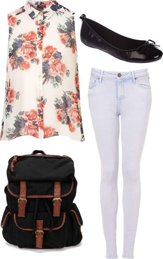 chic outfits for first day of college (13)