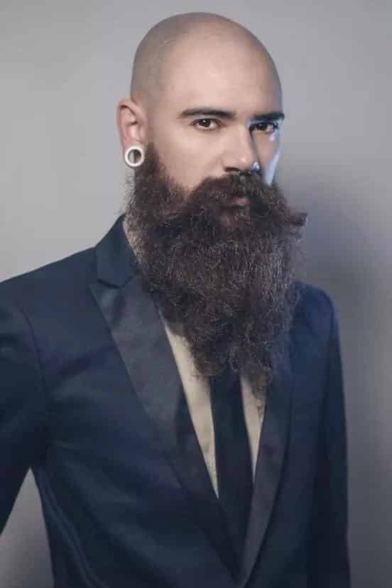 Bald-Men-1 Beard Styles for Bald Guys-30 New Facial Hairstyles for Bald Heads