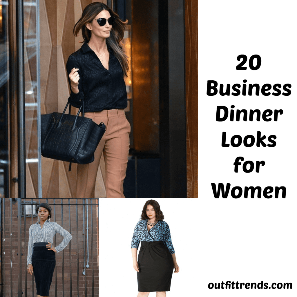 PicMonkey-Collage-1024x1024 What to Wear on Business Dinner? 20 Smart Outfit Ideas