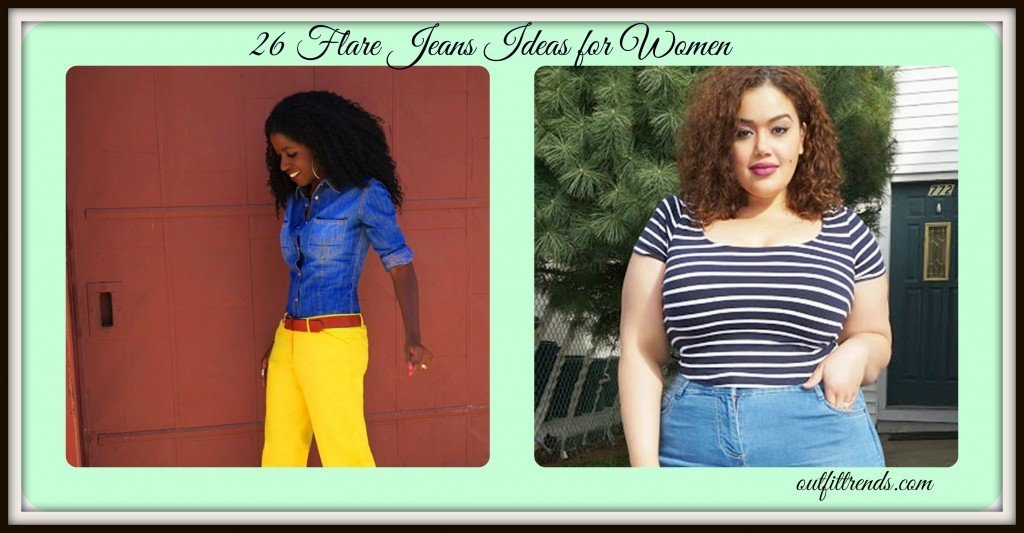 PicMonkey-Collage-2-1024x533 Cute Outfits with Flare Jeans-26 Styles to Wear Flare Jeans