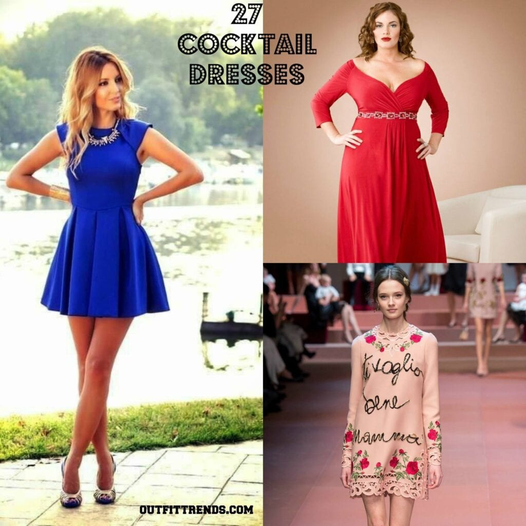 PicMonkey-Collage-6-1024x1024 Cocktail Party Outfits- 27 Dresses to Wear at Cocktail Party