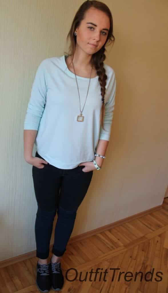 Sporty3-588x1024 How to Look Cute in a Casual Outfit - Fashion Tips for Teens