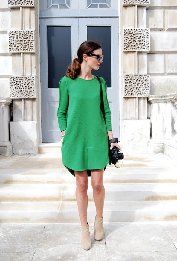 Womens-Office-Wardrobe-Looks-In-Emerald-Green-Shades-12 40 Ideas to Make Your Own Casual Outfit When Nothing to Wear