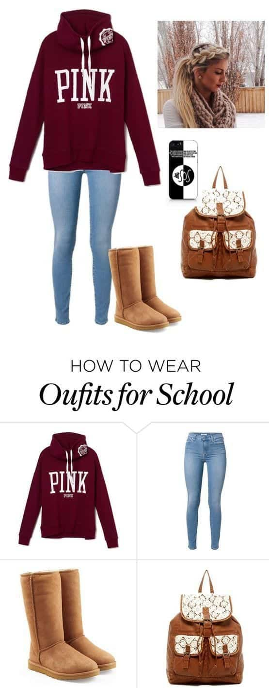 what to wear with snow boots girls women (15)