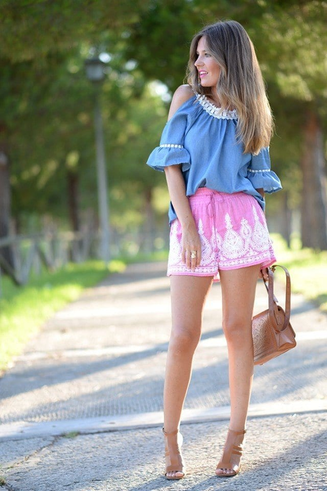 Outfits with flared sleeves (2)