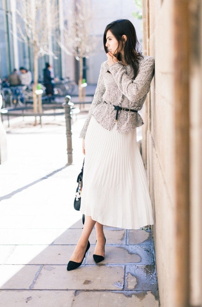chanel-ladylike-style-inspiration-outfit Church Outfit Ideas - 27 Decent Ideas What to Wear to Church