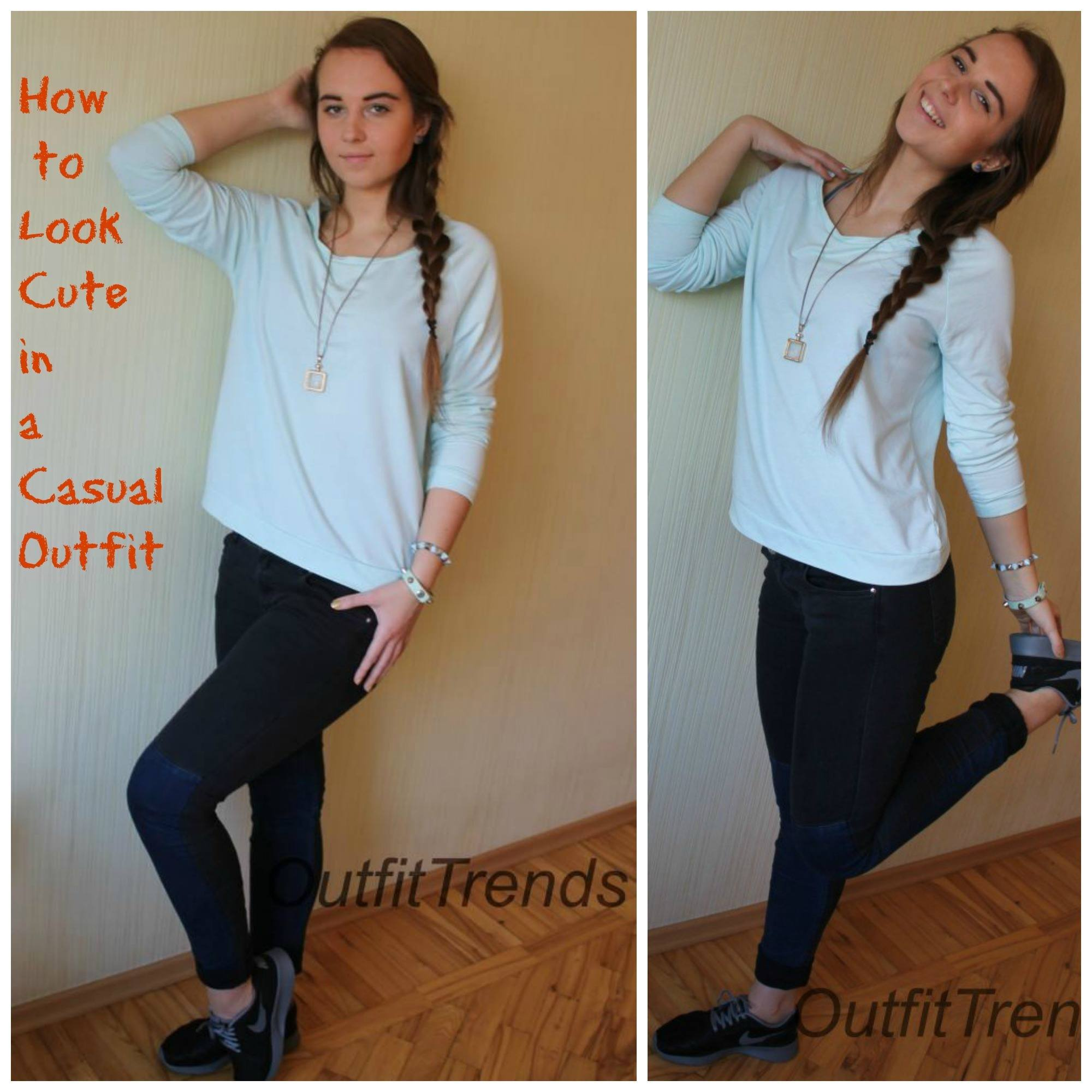 cute-casual How to Look Cute in a Casual Outfit - Fashion Tips for Teens
