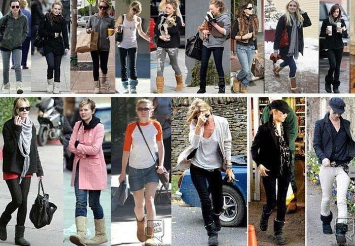 fashion-boots-12 Outfits with Snow Boots-20 Ways to Wear Snow Shoes in Winter