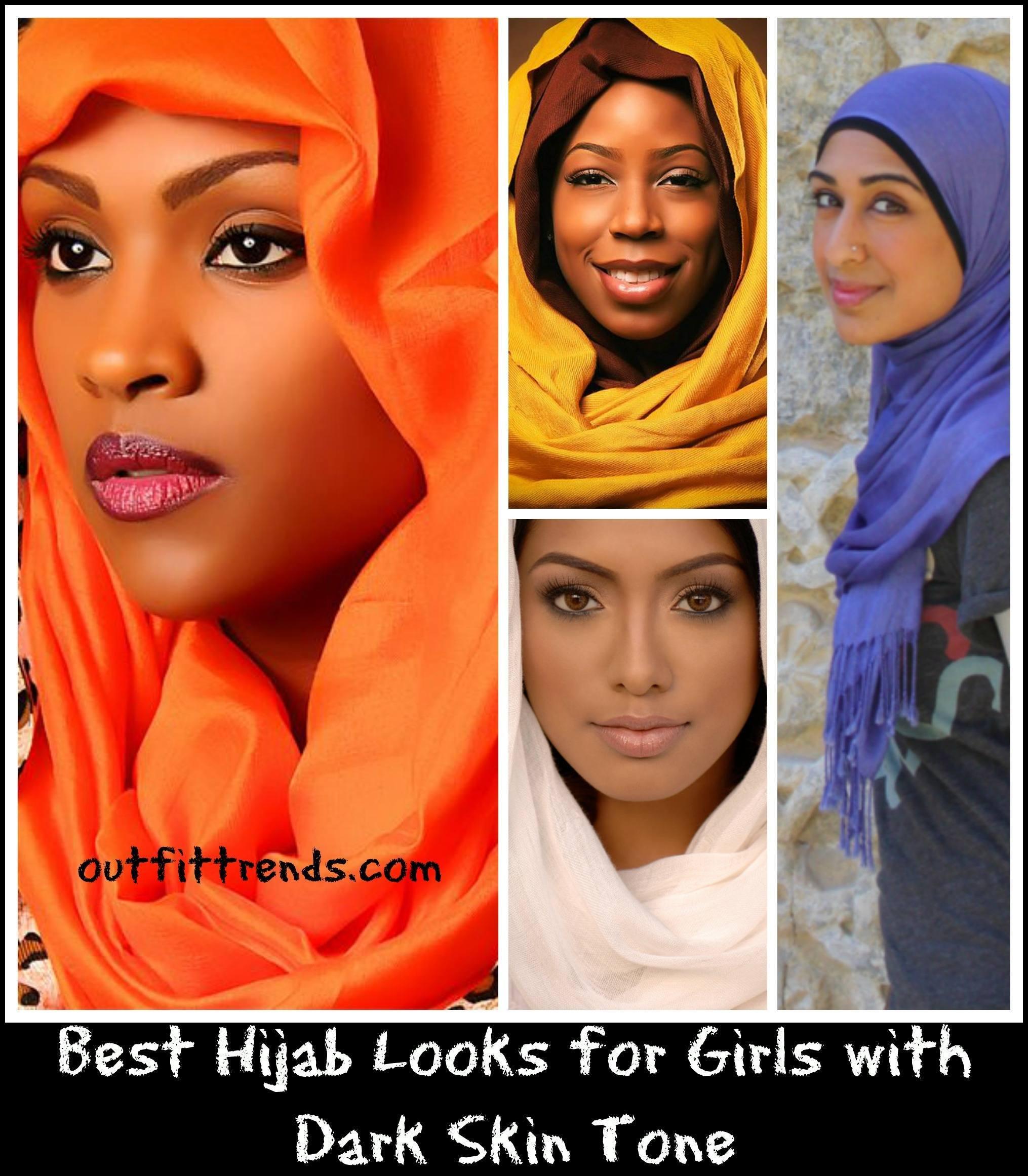 hijab dark skin