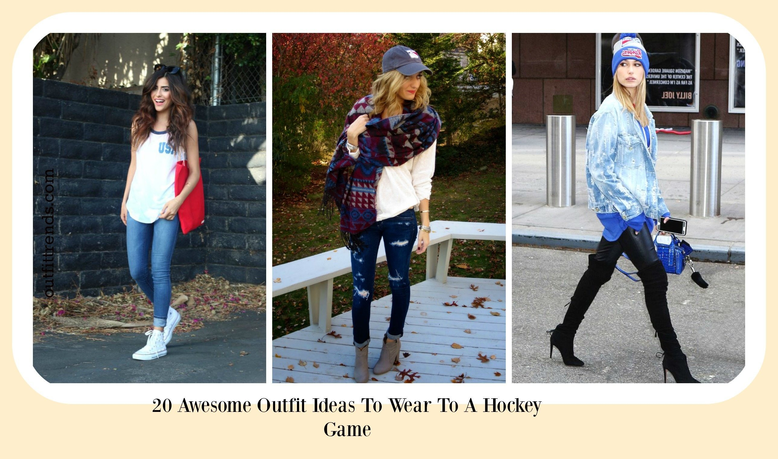 Hockey Game Outfits- 17 Ideas What To Wear To A Hockey Game