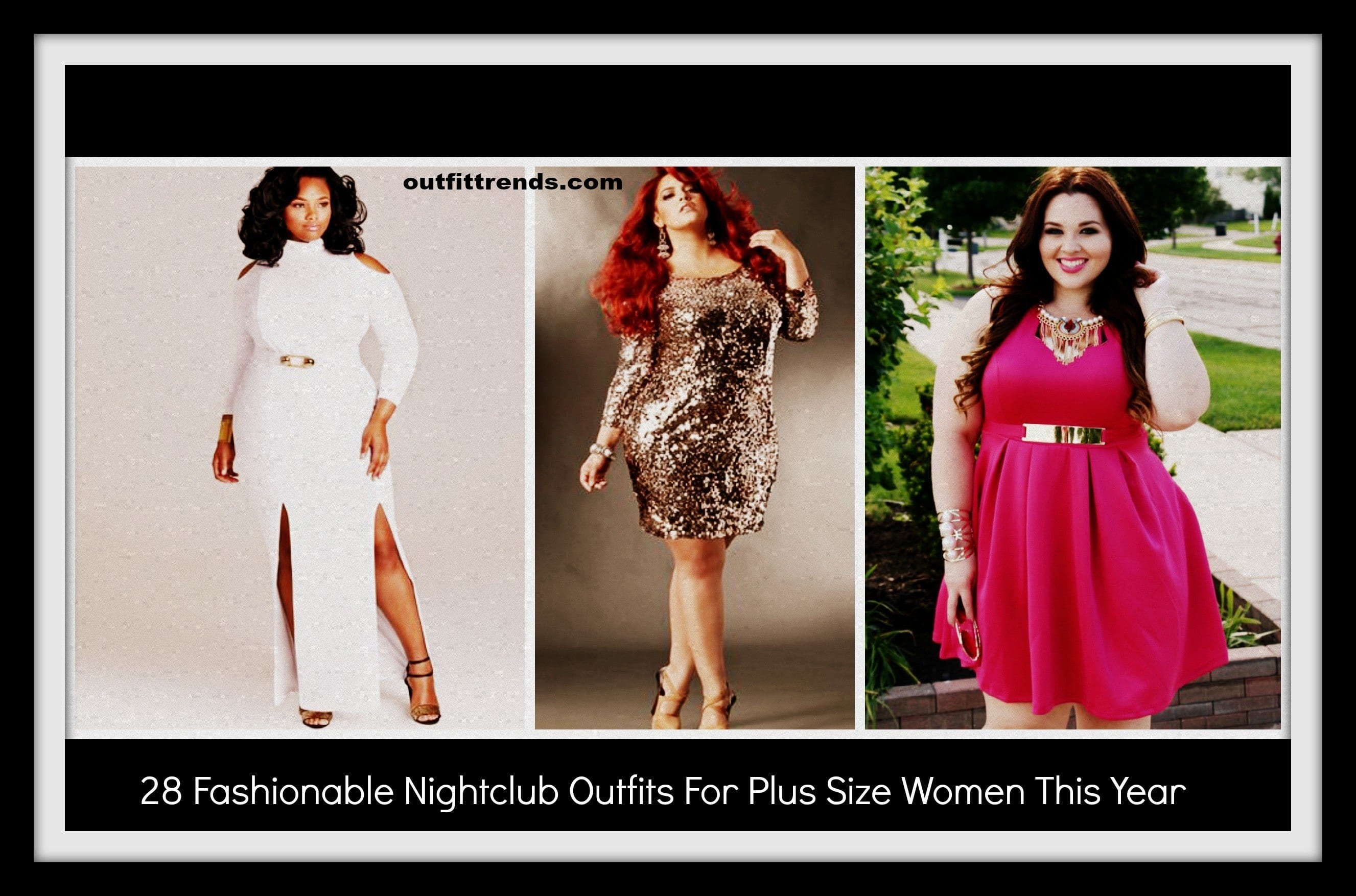 nightclub outfits for plus size ladies